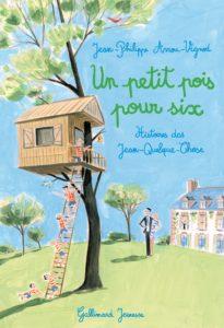 Histoires des Jean-Quelque-Chose, t.7 : un petit pois pour six de Jean-Philippe Arrou-Vignod